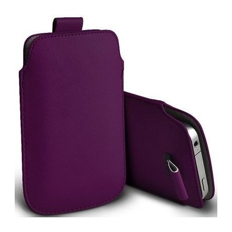 Funda para movil Alcatel One Touch lila