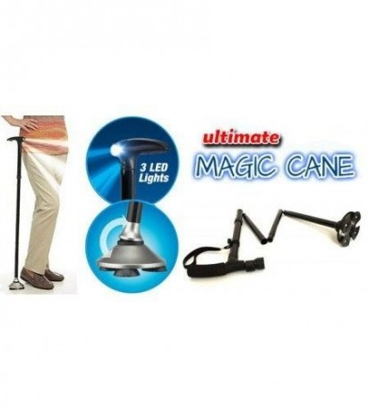BASTON PLEGABLE CON LUZ- ULTIMATE MAGIC CANE