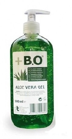 + B.O gel Aloe Vera botella 500 ml + dispensador