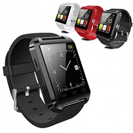 LEMFO Bluetooth Smart Watch Reloj Pulsera Inteligente U8 UWatch, Apto para Smartphones IOS Android Apple iphone 4/4S/5/5C/5S And