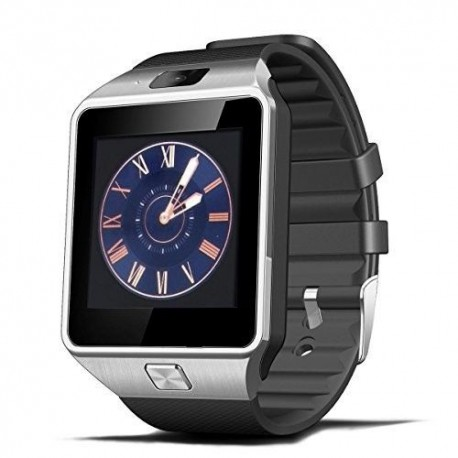 "Xcsource DZ09 - Smartwatch (pantalla de 1.56"", cámara de 2 Mp, Bluetooth, NFC), color negro"