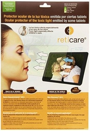 Reticare 352T-9690-B - Protector de ojos compatible con Apple iPad, intensive